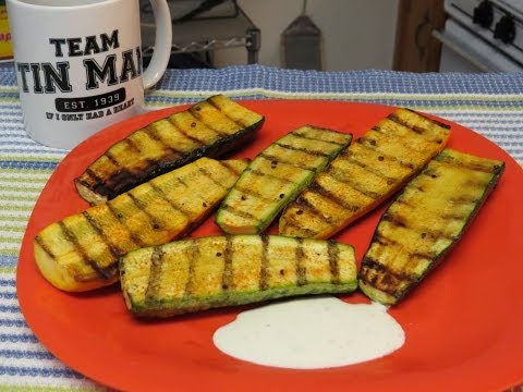 Easy Grilled Zucchini and a Couple of Shoutouts