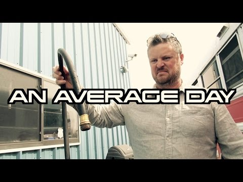 Average Day Living in a Converted School Bus | Bus Life