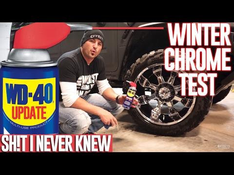 Sh*t I Never Knew: Winter WD-40 Wheel Wonder UPDATE!