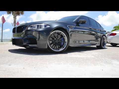 Strasse Wheels - Singapore Gray BMW F10 M5