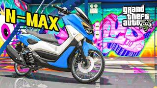 ยามาฮ่า เอ็นแม็กซ์ (Yamaha N-max 2018 GTA V Mods)