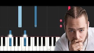 Post Malone - Congratulations (Piano Tutorial)