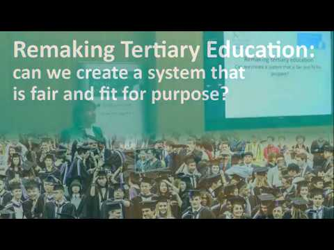 Education Policy Institute Annual Lecture: Alison Wolf, 'Remaking Tertiary Education'