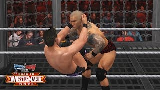 "WWE Smackdown vs Raw 2011 - ""ELIMINATION CHAMBER!!"" (Road To WrestleMania Ep 7)"