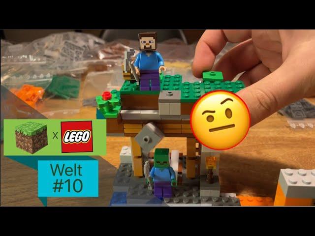 LEGO® X Minecraft World #10 - Brandneues Set (21166 Die Verlassene Mine) & Bricklink Bestellung