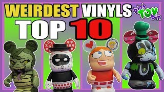 Top 10 WEIRDEST Disney Vinylmations | Our Collection