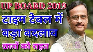 UP Board Big Changes 2019 | Exam Date Sheet, Scheme, time table Class 10th & 12th Latest News Today