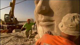 Moving Temple of Ramses II (Egyptian Pharaoh)