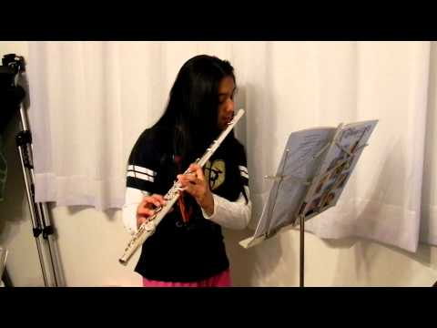 Under The Sea From Walt Disney's The Little Mermaid On The Flute