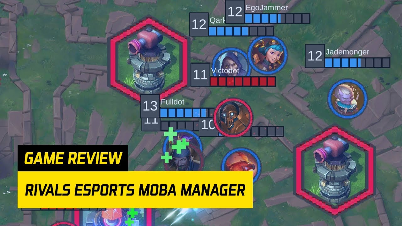 Is RIVALS Esports MOBA Manager Good? – RIVALS Esports MOBA Manager (Review)
