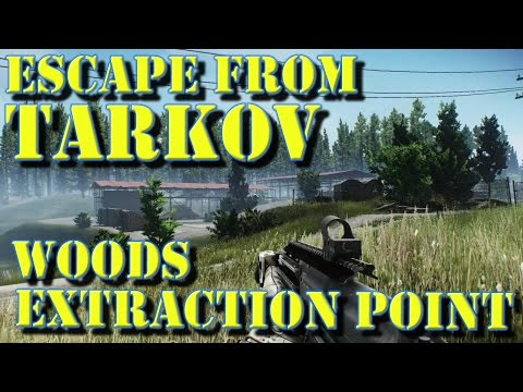 Escape From Tarkov Woods Extraction Youtube