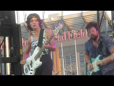 """Tear Me To Pieces & Numb & Desire"" Meg Myers@Xfinity Live Philadelphia 8/18/19"