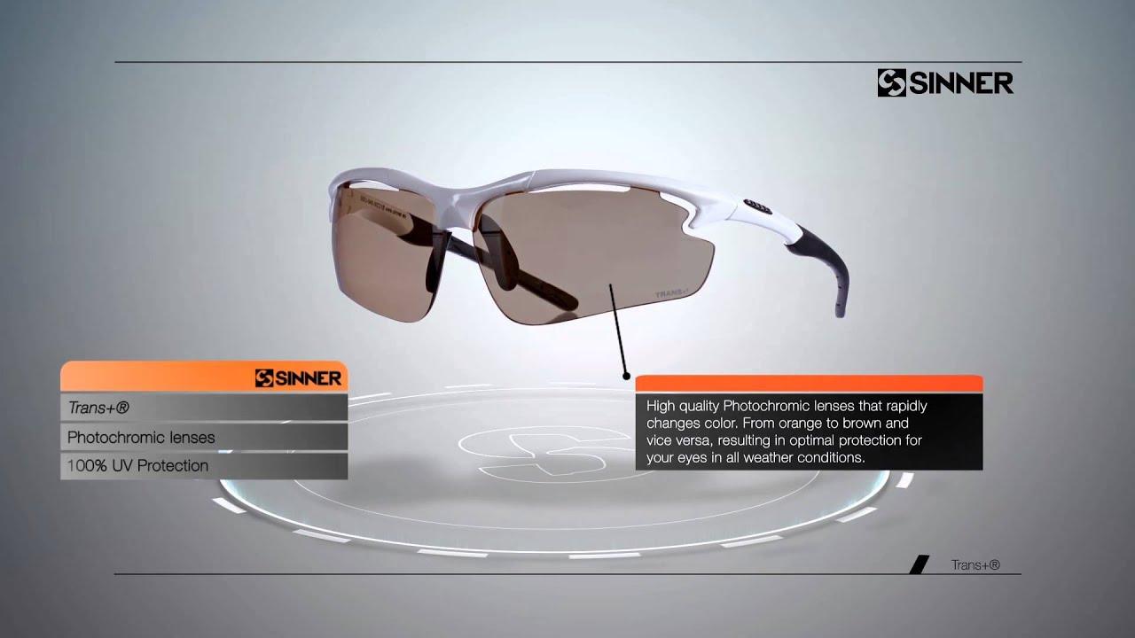 2cf35728404 SINNER lens technology photochromic TRANS+ - YouTube