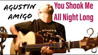 "Agustin Amigo - ""You shook me all night long"" (AC/DC) - Solo Acoustic Guitar"