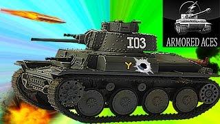 Мульт танки Armored aces #6 онлайн игра немецкий танк Видео для детей как Tanktastic