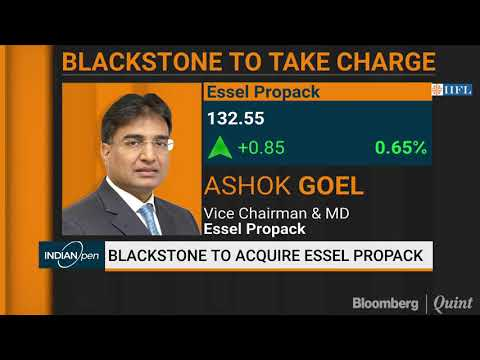 Blackstone To Acquire Majority Stake In Essel Propack