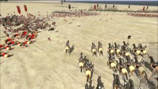 "Rome Total War Online Battle #1989: Alexander the Great vs Caesar (""What If"")"