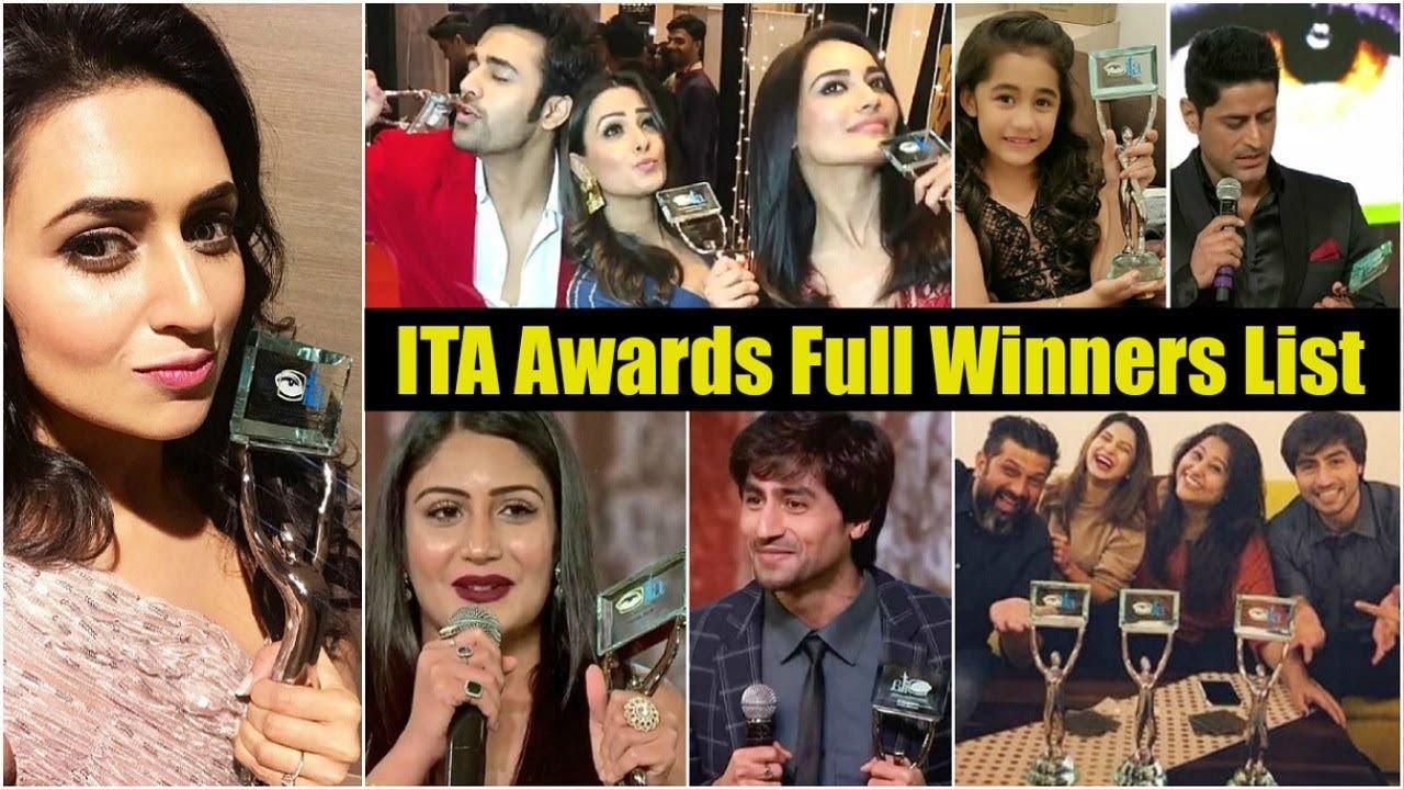 ITA Awards 2018 Winners List | Divyanka Tripathi, Surbhi Chandna, Aakriti  Sharma