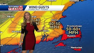 Video- Nor'easter Brings Heavy Rain & Strong Wind
