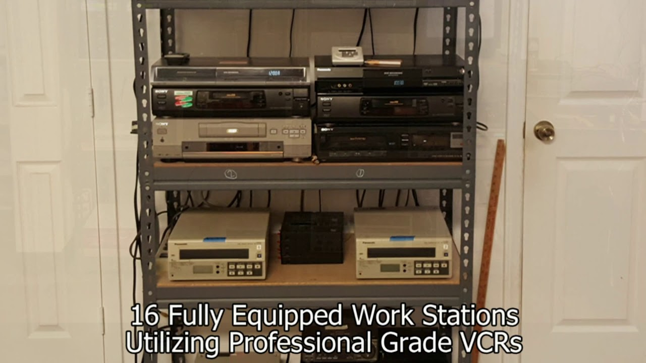 Professional Video Tape Copy in Houston Texas, Tapes to DVD