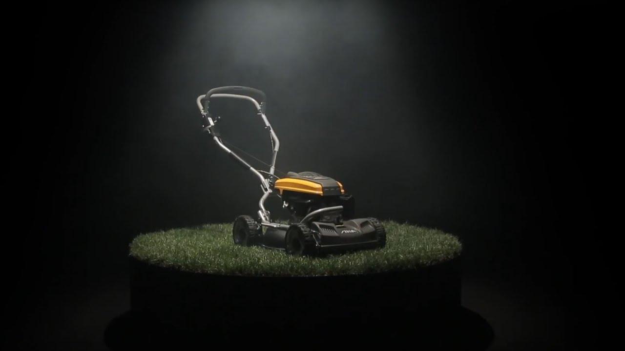 Lige ud Multiclip Pro 50S – A professional lawn mower   STIGA - YouTube MR56