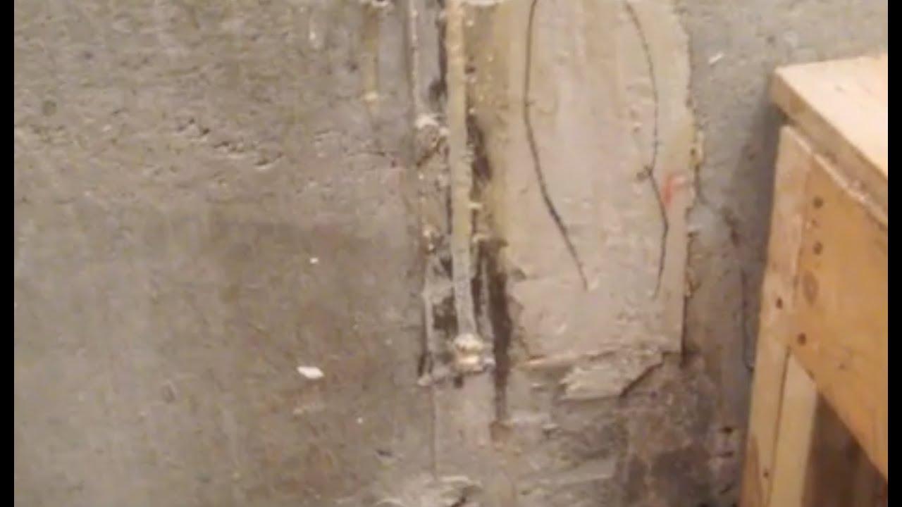 epoxy basement crack repair