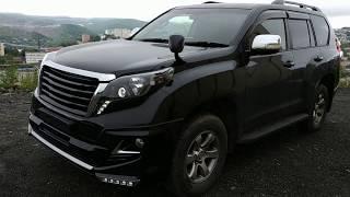 Комплект Рестайлинга Toyota Land Cruiser Prado 150 Тюнинг - Обзор  - Установка