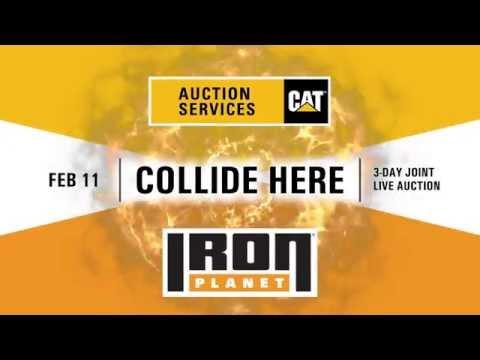 IronPlanet & CAT Auction Services - Joint Florida Auction 2015