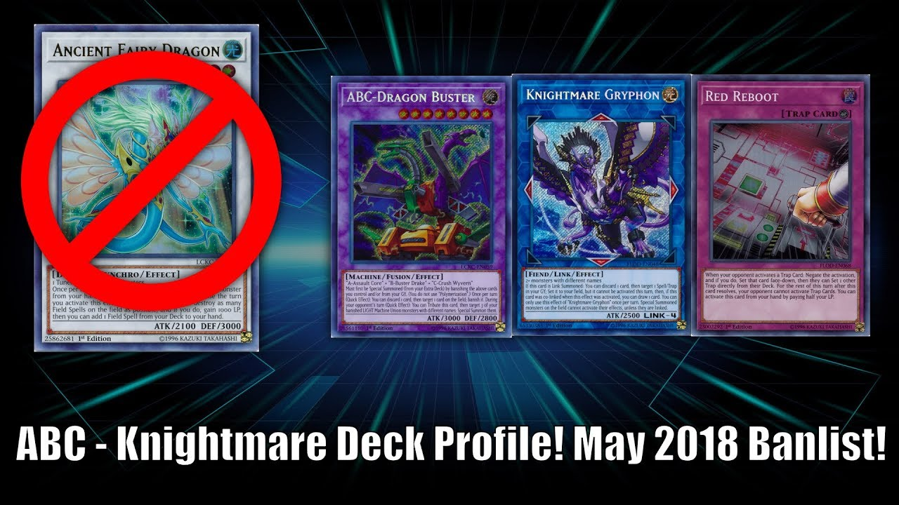 Yu-Gi-Oh! ABC - Knightmare Deck Profile! Without Ancient Fairy! May 21st  2018 Banlist!