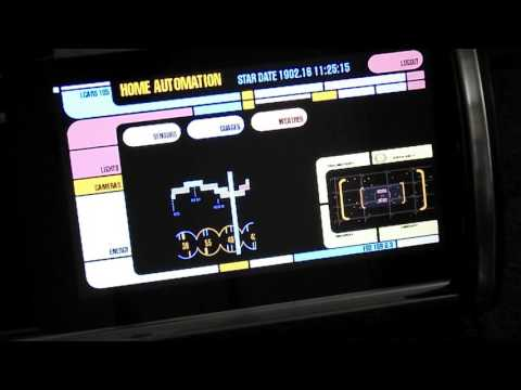 Raspberry Pi Star Trek LCARS interface using PyGame