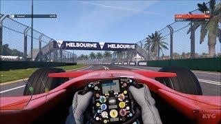 F1 2018 - Ferrari F2007 2007 - Test Drive Gameplay (PC HD) [1080p60FPS]