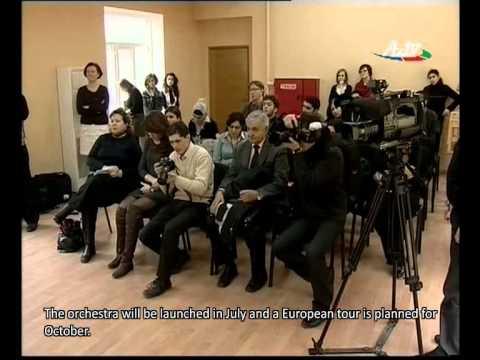 A reportage prepared by the Azerbaijani television (AzTv)