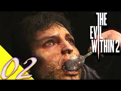 THE EVIL WITHIN 2 #2 CH2 ( SOMETHING NOT QUITE RIGHT  ) SURVIVAL 100% COLLECTIBLES ( PS4/PRO )