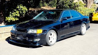 1996 Toyota Chaser Turbo 5-speed JZX100 (Finland Import) Japan Auction Purchase Review