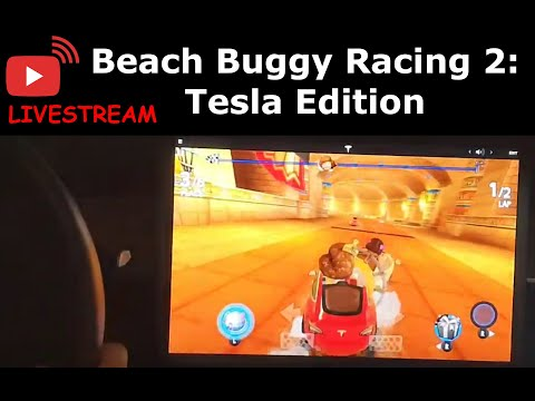 Live Stream: Unlocking All Characters & Levels | Beach Buggy Racing 2: Tesla Edition