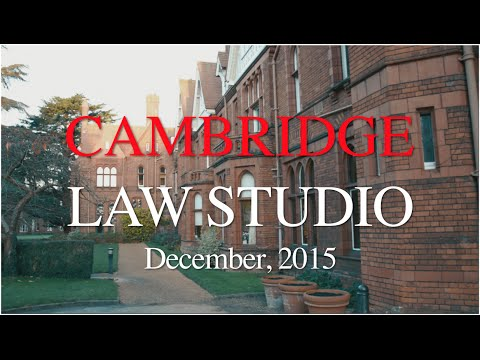 Cambridge Law Studio, December 2015