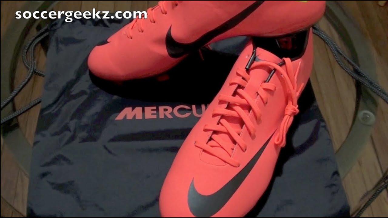 72e55f3f044b Nike Mercurial Vapor 8 VIII Unboxing - Bright Mango Metallic Dark  Grey Challenge Red - YouTube