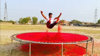JUMP ON GULAAL TRAMPOLINE ?