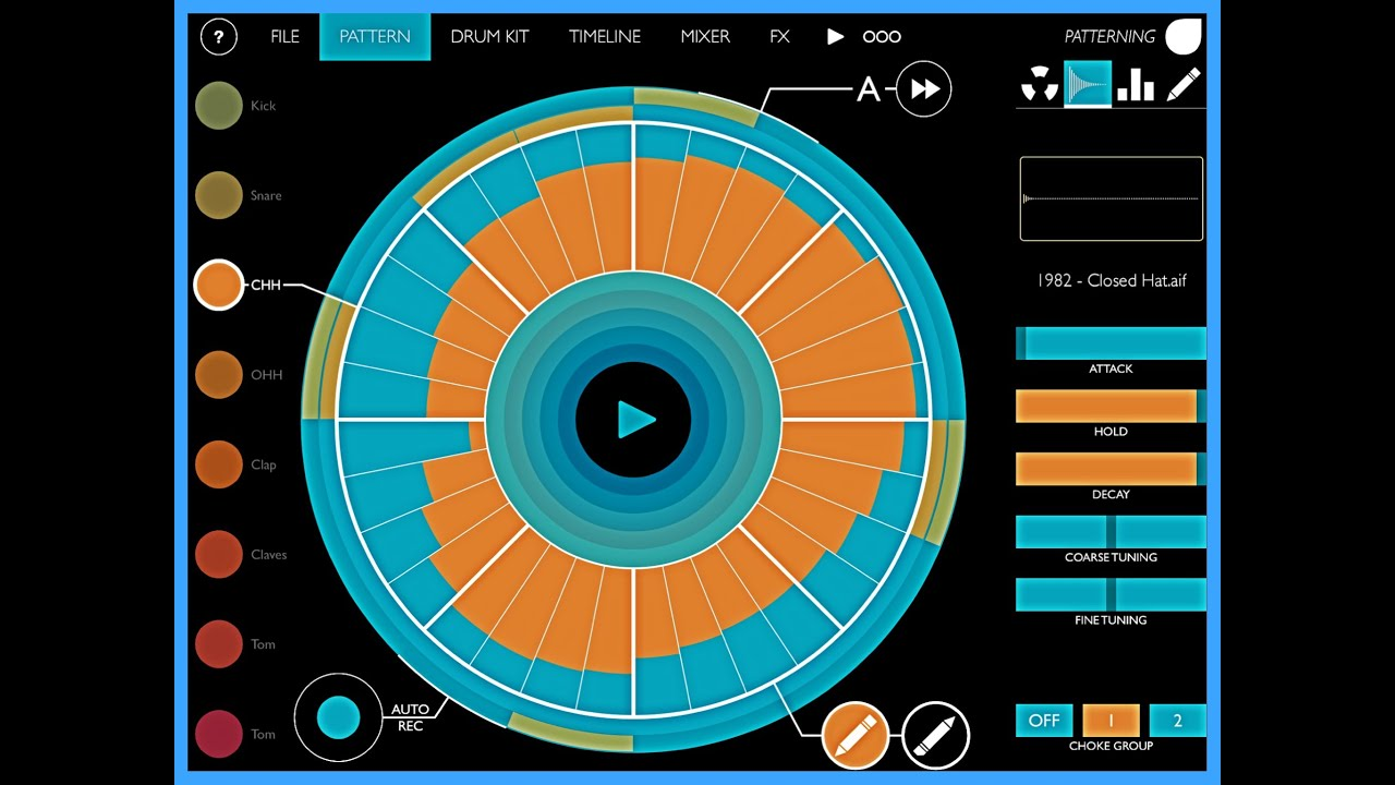 Olympia Noise Co  Patterning : Drum Machine - Percussion