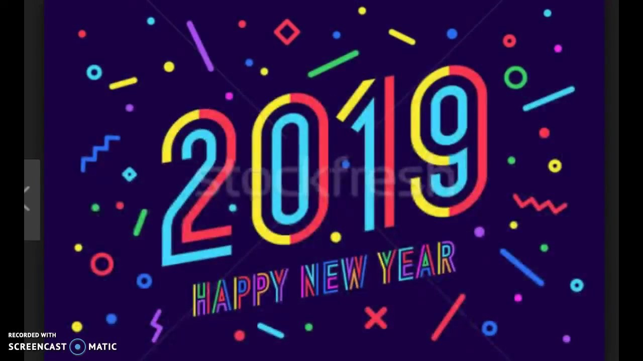 Very Best Happy New Year 2019 Stock Photos Wishes Images Quotes