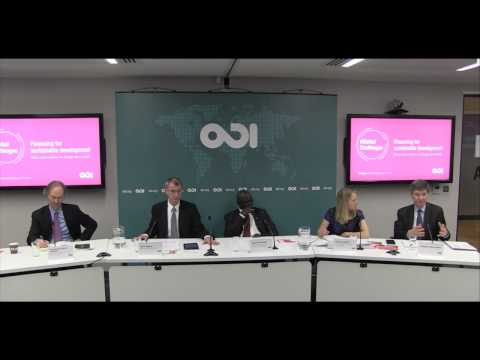 Q&A and closing remarks: Financing for sustainable development