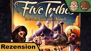 Five Tribes - Brettspiel Test - Spiel - Rezension - Review #64