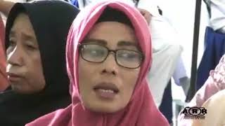 Kutitip Rindu buat Ayah - Tangis Haru Wisuda IX AKBID Harapan Bunda Bima