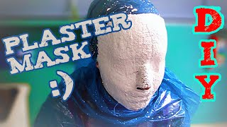 How To Make A Plaster Mask Of Your Face - For Carnivals, Wall Decorations, Costumes Etc.