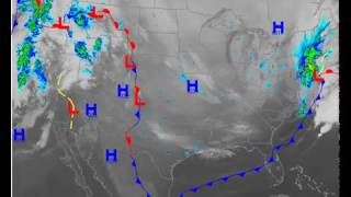 2-9-17 North East Snowstorm - USA Infrared Satellite