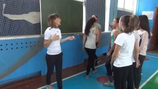 Фрагмент (2)Урок физической культуры по ФГОС (старшие классы)