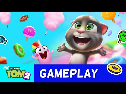 My talking Tom 2 / New Game / kids games / baby game / Cartoons for kids