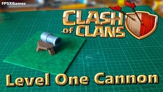 Clash of Clans Cannon Model