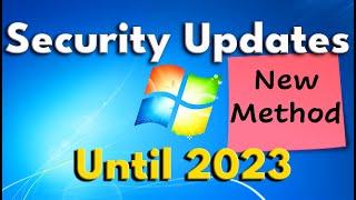 [UPDATED] How to gęt Windows 7 Updates until 2023