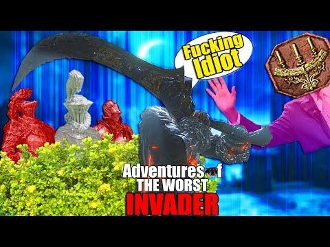 Dark Souls 3: Adventures Of The Worst Invader - Sneaky Ganks & Idiot Faithfuls...(Gank City)